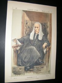 Vanity Fair Print 1870 Rt. Hon Speaker Denison